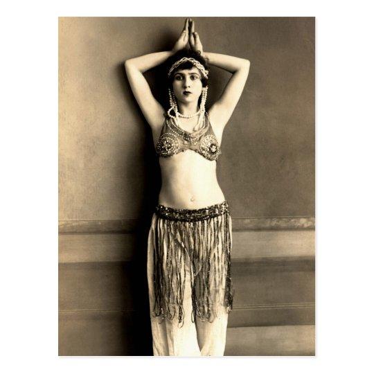 Belly Dancer Postcard