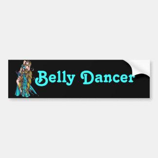 Belly Dancer Sticker Bumper Sticker