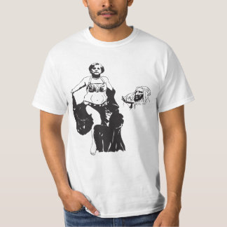 Belly dancer. t-shirts