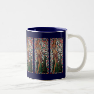 Belly Dancer Two-Tone Coffee Mug