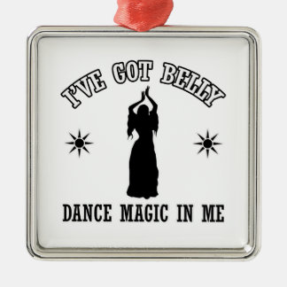 belly dancing design christmas ornament