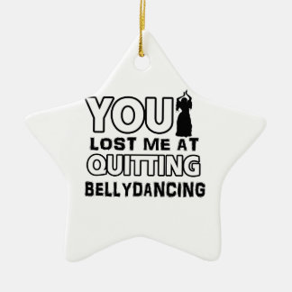 Belly Dancing designs will make a great gift item Christmas Tree Ornaments