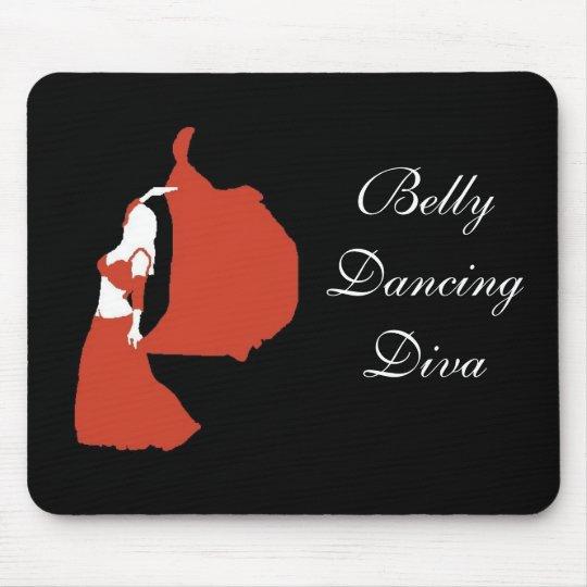 Belly Dancing Diva Mouse Mat