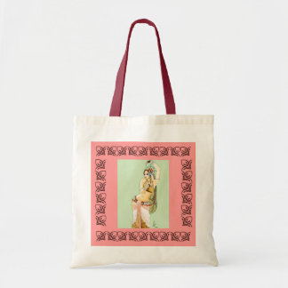 Belly Dancing Tote Bag