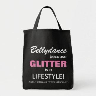 Bellydance, Bellydancer Tote or Gift Bag