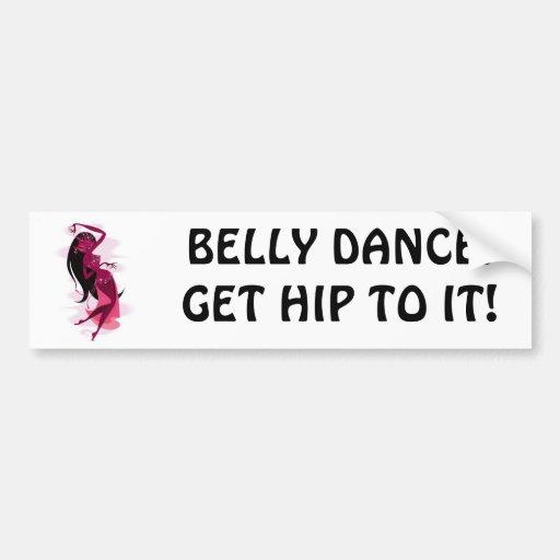 Bellydance Bumper Sticker