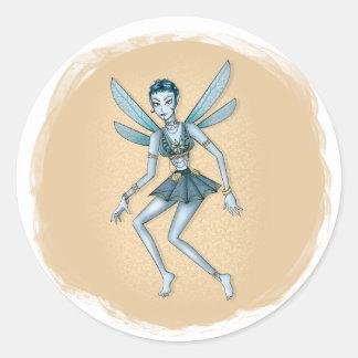 BellyDance Fairy Classic Round Sticker