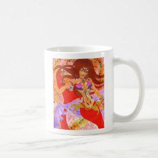 bellydancer mermaid Ruby mug