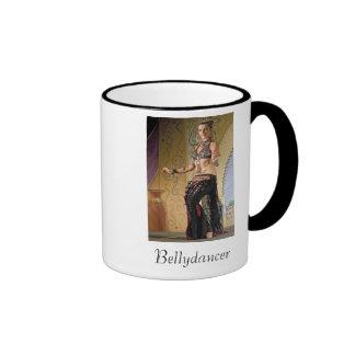 Bellydancer Ringer Mug