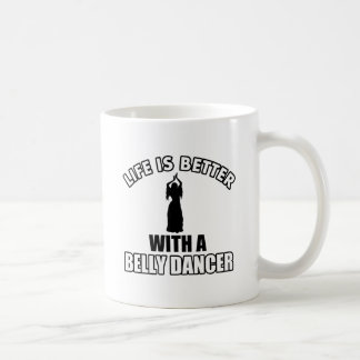 Bellydancing designs coffee mug