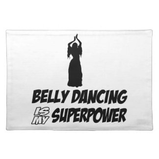 Bellydancing designs placemat