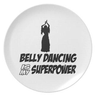 Bellydancing designs plate