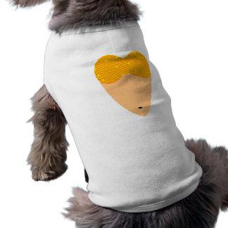 Bellydancing Torso Belly Dance Heart Sleeveless Dog Shirt