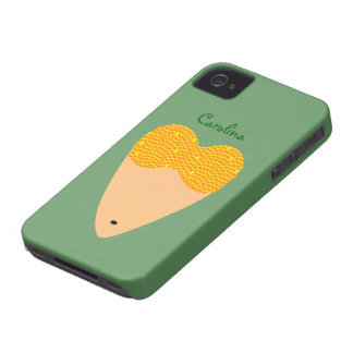 Bellydancing Torso Belly Dancer Heart Custom Name iPhone 4 Cases