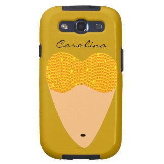 Bellydancing Torso Belly Dancer Samsung Name Galaxy S3 Case