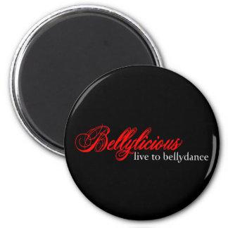 Bellylicious 6 Cm Round Magnet