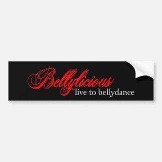 Bellylicious Bumper Sticker