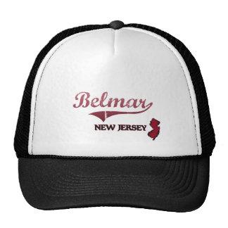 Belmar New Jersey City Classic Trucker Hats