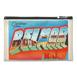 Belmar New Jersey NJ Old Vintage Travel Postcard- Travel Accessory Bags