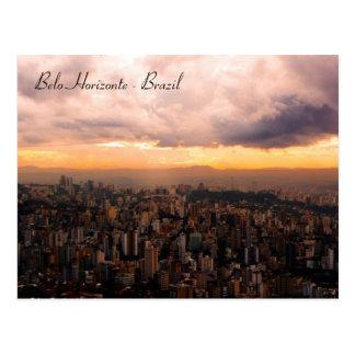 Belo Horizonte - Brazil Postcard