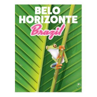 Belo Horizonte, Brazil travel poster Postcard