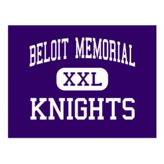 Beloit Memorial - Knights - High - Beloit Postcard