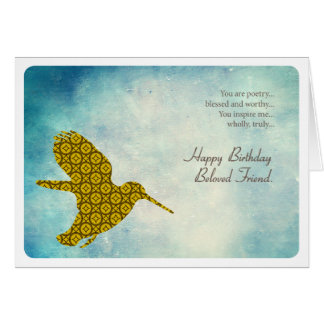Beloved Birthday Card