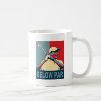 Below Par Basic White Mug