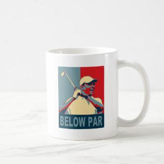 Below Par Basic White Mug