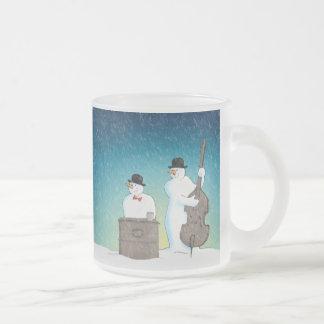 Below Zero Frosted Glass Mug