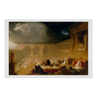 Belshazzar s Feast oil on canvas Poster