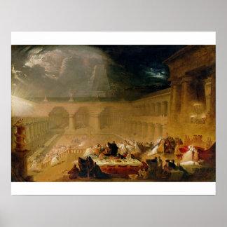Belshazzar s Feast oil on canvas Print