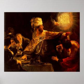 Belshazzar s Feast Print