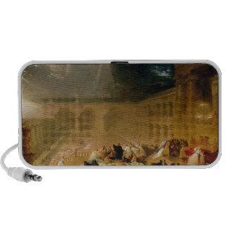 Belshazzar's Feast (oil on canvas) Laptop Speakers