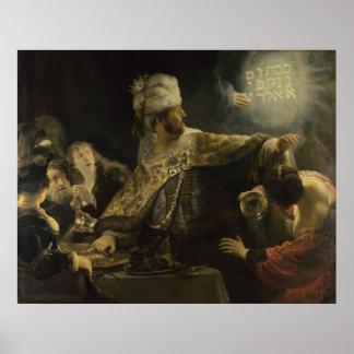 Belshazzar's Feast Poster