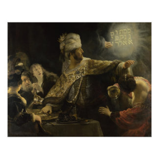 Belshazzar's Feast Posters