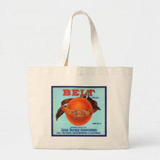Belt Brand California Oranges Jumbo Tote Bag