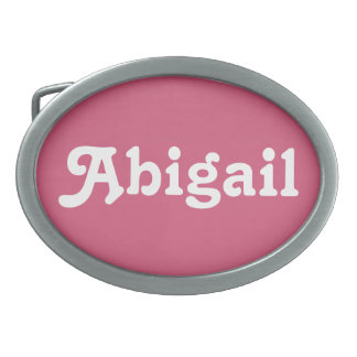 Belt Buckle Abigail