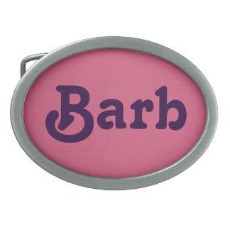 Belt Buckle Barb