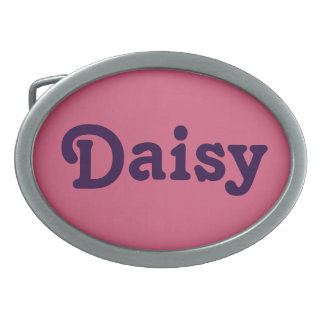 Belt Buckle Daisy