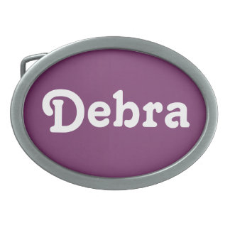 Belt Buckle Debra