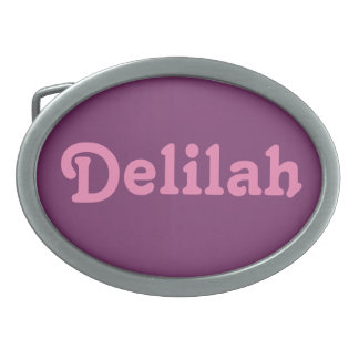 Belt Buckle Delilah