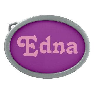 Belt Buckle Edna