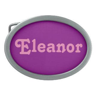 Belt Buckle Eleanor