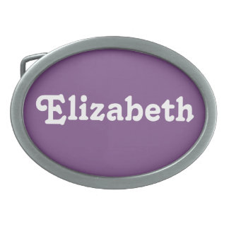 Belt Buckle Elizabeth