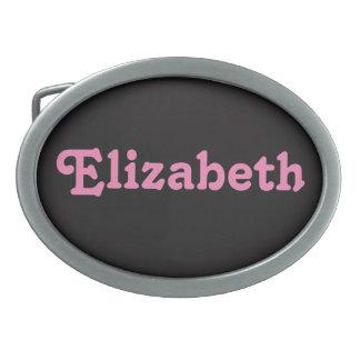 Belt Buckle Elizabeth