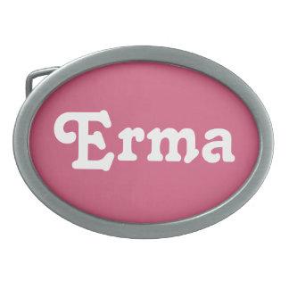 Belt Buckle Erma