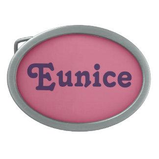 Belt Buckle Eunice