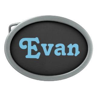 Belt Buckle Evan