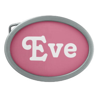 Belt Buckle Eve